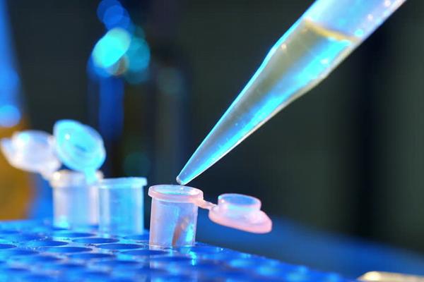 Stock image of lab testing