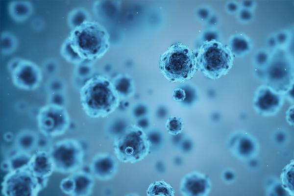 Stock image of virus