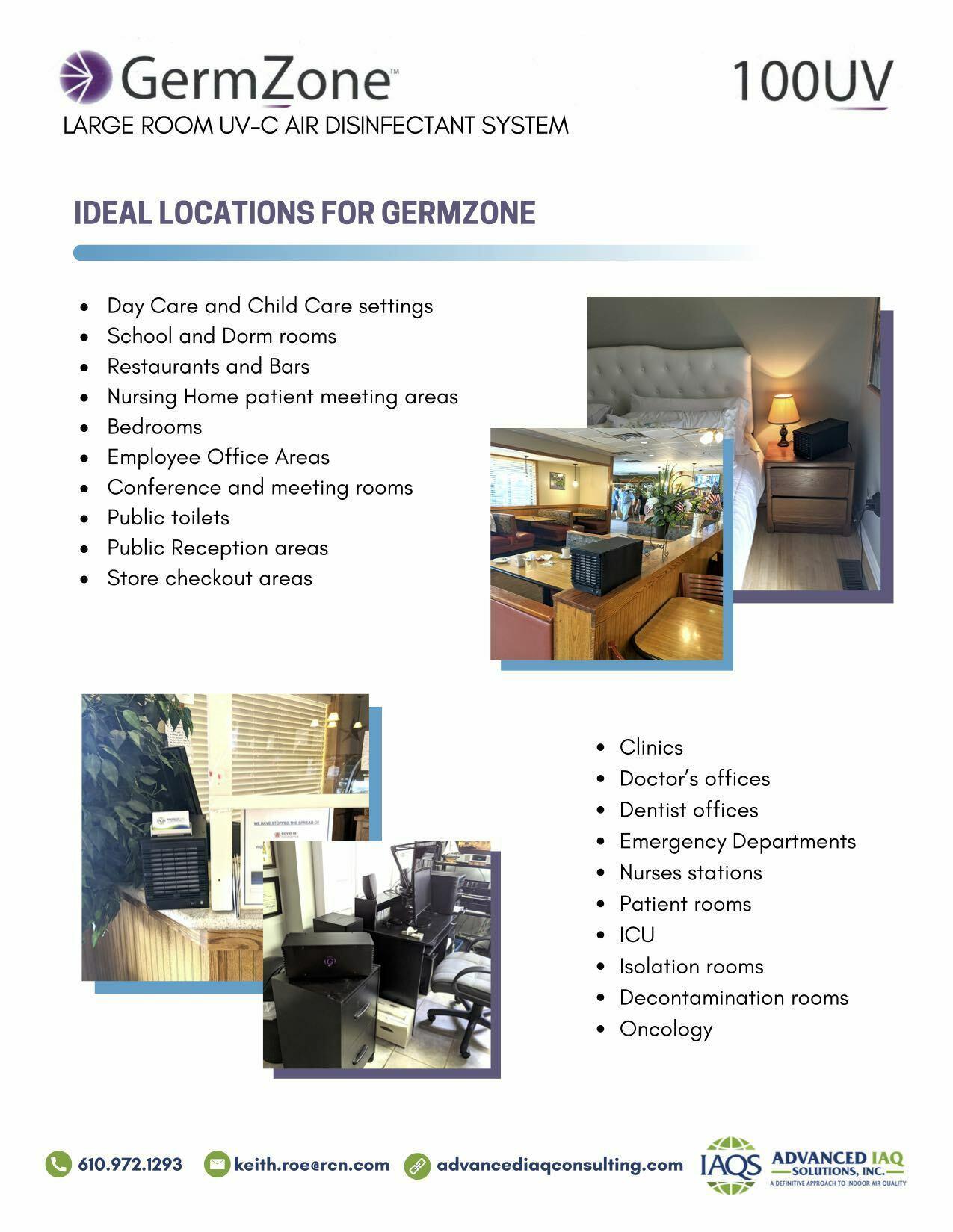 Germ Zone Flyer